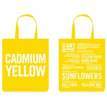 Cass Art Tote Bag Cadmium Yellow
