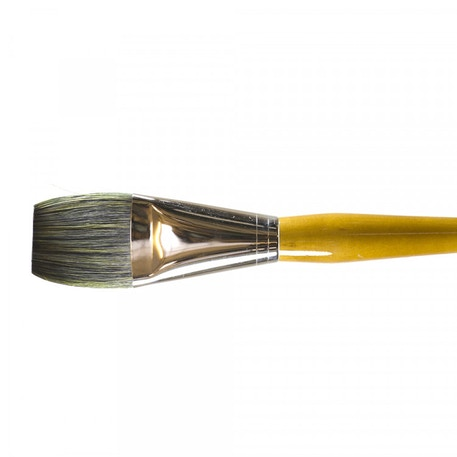 Isabey Isacryl Long Flat Series 6582 Brush | Cass Art