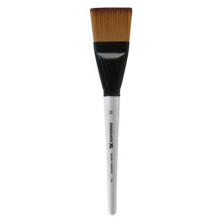 Daler Rowney Graduate XL Soft Synthetic Flat Brush | Cass Art