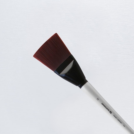 Daler Rowney Graduate XL Stiff Synthetic Flat Brush | Cass Art