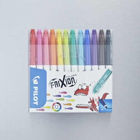 Pilot Pen FriXion Colours Erasable Felt Tip Pen Assorted Colours Set of 6 | Cass Art