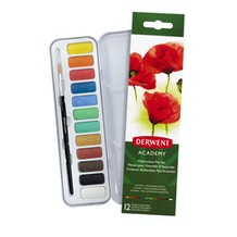 Derwent Academy Watercolour 12 Pan Set