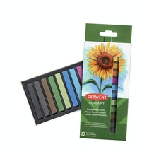 Derwent Academy Soft Pastels Set of 12