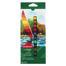 Derwent Academy Oil Paints 12ml Set of 12