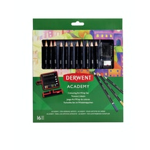 Derwent Academy Colouring Art Wrap Set