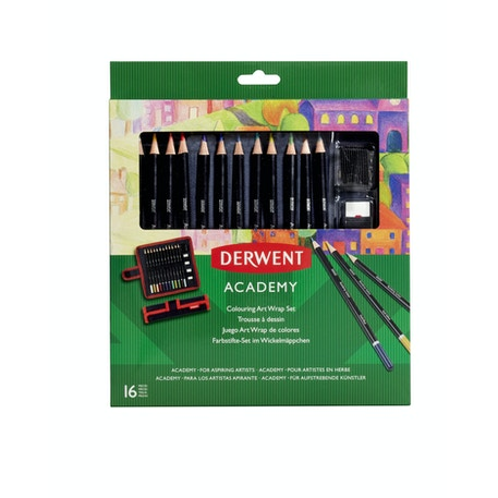 Derwent Academy Colouring Art Wrap Set | Cass Art