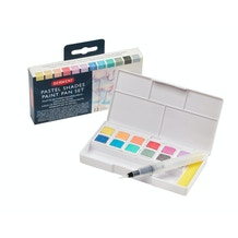 Derwent Pastel Shades Paint Set of 12