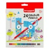 Bruynzeel Colour Pencil Assorted Colours Set of 24