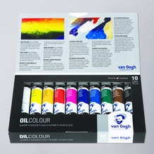 Van Gogh Oil Colour Basic Set of 10 20ml