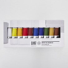 Cass Art Artists' Oil Colour 37ml Set of 10