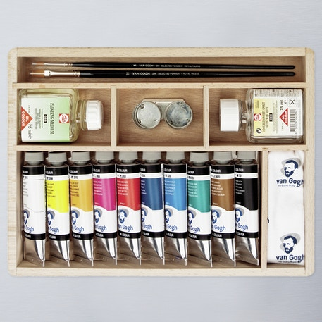 Van Gogh Oil Colour Basic Box Set | Cass Art