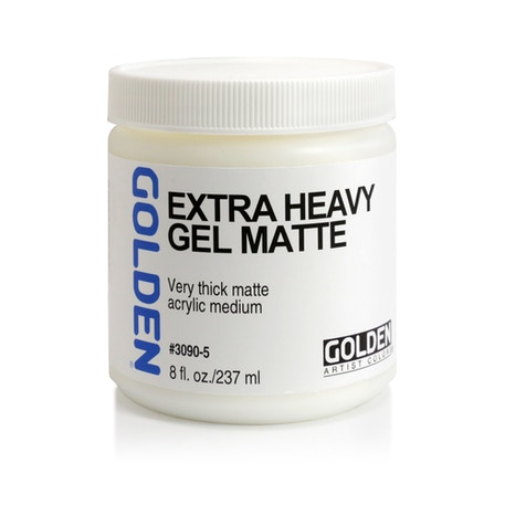 Golden Extra Heavy Gel 236ml | Cass Art