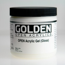 Golden Open Acrylic Gel