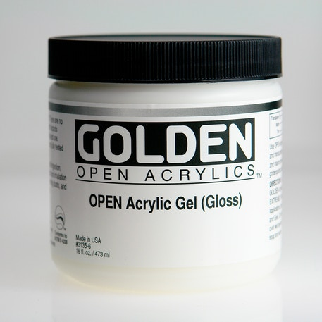 Golden Open Acrylic Gel | Cass Art
