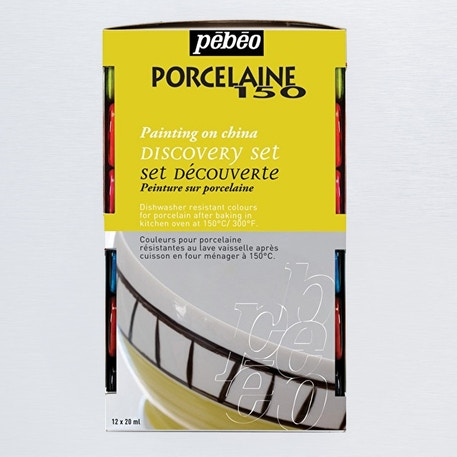 Pebeo Porcelaine 150 Discovery Collection 20ml Set of 12 | Cass Art