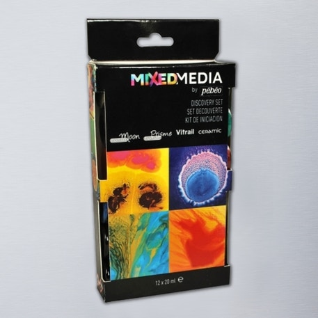 Pebeo Mixed Media Discovery 20ml Set of 12 | Cass Art