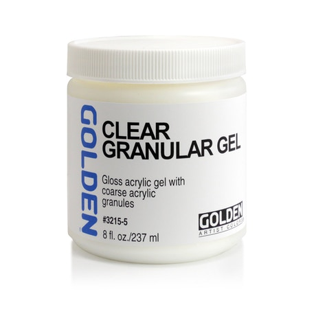 Golden Clear Granular Gel 236ml | Cass Art