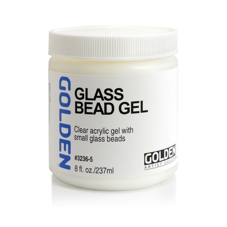 Golden Glass Bead Gel | Cass Art