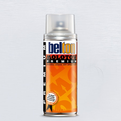 Molotow Belton Premium Varnish Spray Paint 400ml | Cass Art