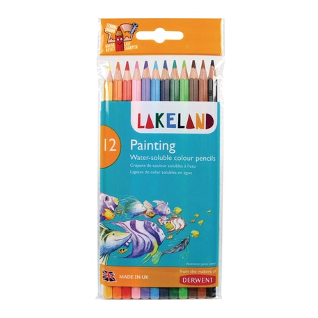 Derwent Lakeland Painting Colouring Pencils Set of 12 | Cass Art