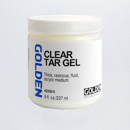 Golden Clear Tar Gel 236ml | Cass Art