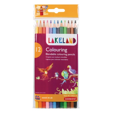 Derwent Lakeland Colouring Pencils Set of 12 | Cass Art