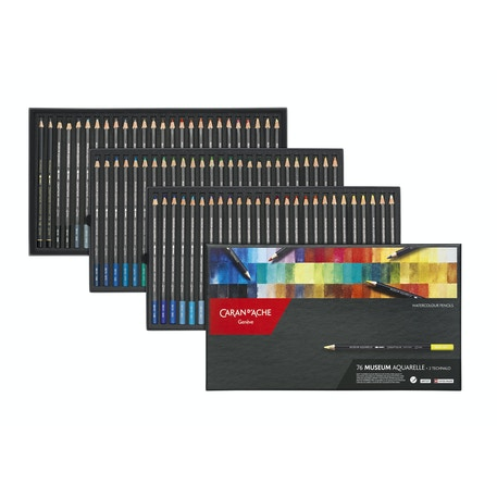 Caran D'ache Watercolour Pencil Assorted Colours Set of 78