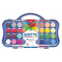 Giotto Watercolour Pans Set of 36