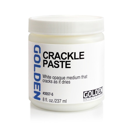 Golden Crackle Paste | Cass Art