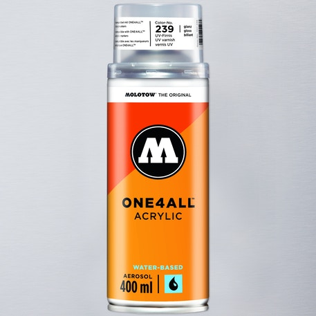 Molotow ONE4ALL Acrylic Varnish 400ml | Cass Art