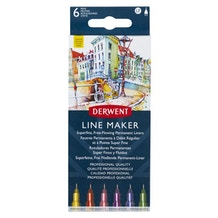 Derwent Line Maker Colours Set of 6