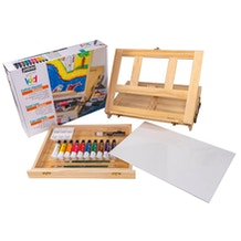 Pebeo Kids Easel Case Set