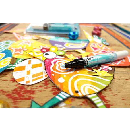 Pebeo Synthetic Drawing Gum Masking Marker 4mm   Cass Art