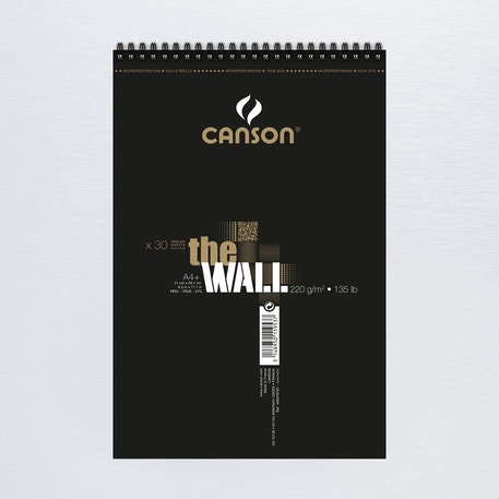 Canson The Wall Pad Double Sided Marker Pad 220gsm 30 sheets | Cass Art