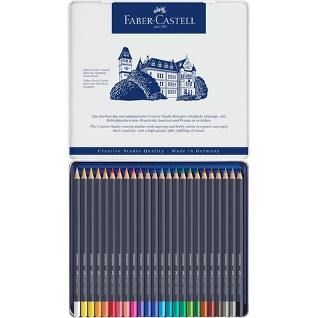 Faber-Castell Goldfaber Colour Pencils Set of 24 | Cass Art