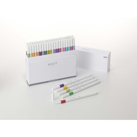Uni EMOTT Fineliner Pens Set of 40
