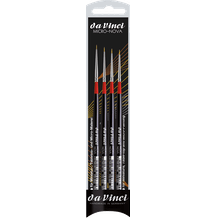 Da Vinci Micro-Nova Synthetic Watercolour Brush Set of 4