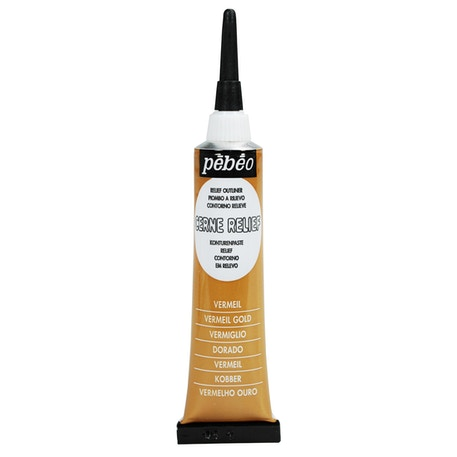 Pebeo Cerne Glass Paint Relief Outliner | Cass Art