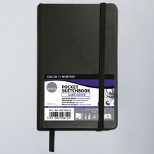 Daler Rowney Simply Pocket Sketchbook Hardcover 8.9 x 14cm