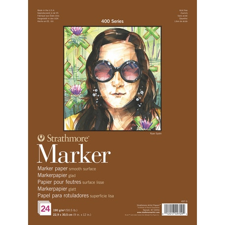 Strathmore 400 Marker Pads 24 sheets