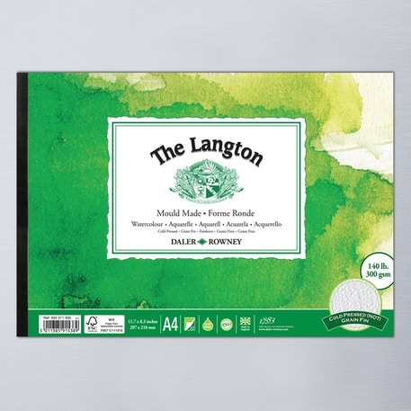 Daler Rowney Langton Watercolour Pad 300gsm | Watercolour Paper | Cass Art
