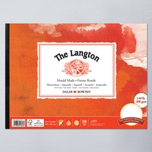 Daler Rowney Langton Watercolour Pad 300gsm Hot
