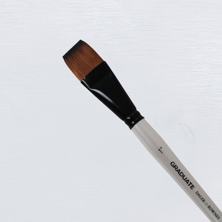 Daler Rowney Graduate Flat Wash Brush | Cass Art
