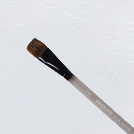 Daler Rowney Graduate Pony / Synthetic Flat Wash Brush | Cass Art