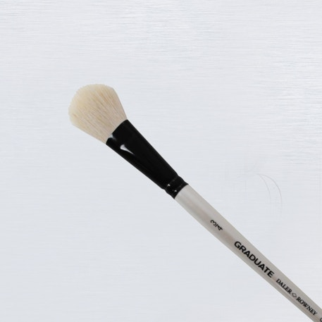 Daler Rowney Graduate Pony / Synthetic Oval Wash Brush | Cass Art