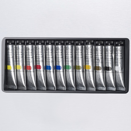 Winsor & Newton Professional Acrylic Colour Set of 12  20ml | Cass Art