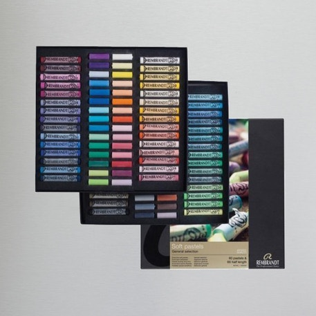Rembrandt Artists' Soft Pastels Set of 120 | Cass Art