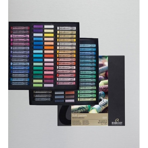 Rembrandt Soft Pastels 60 Half Length and 60 Full Length | Cass Art