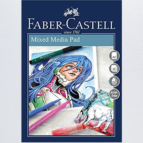 Faber-Castell Creative Studio Mixed Media Pad | Cass Art