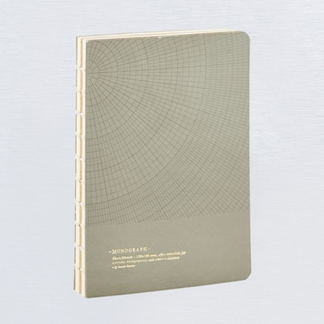 Monograph Geometric Notebook 13 x 18cm | Cass Art